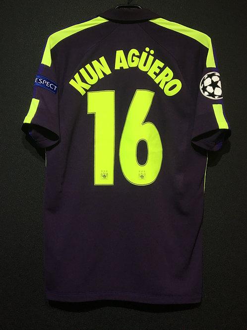【2014/15】/ Manchester City / 3rd / No.16 KUN AGUERO / UCL