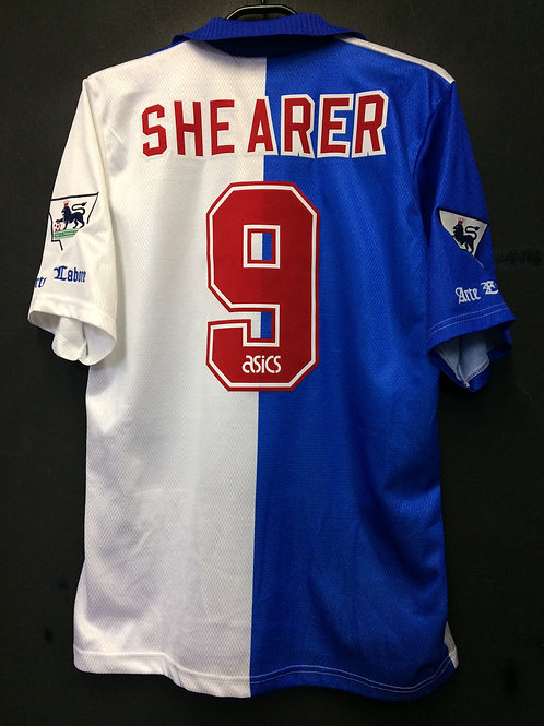 【1994/95】 / Blackburn Rovers / Home / No.9 SHEARER