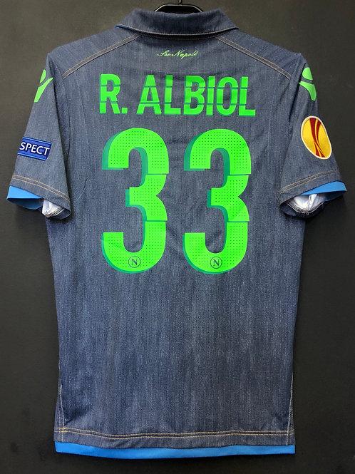 【2014/15】 / S.S.C. Napli / Away / No.33 R.ALBIOL / UEL / Authentic