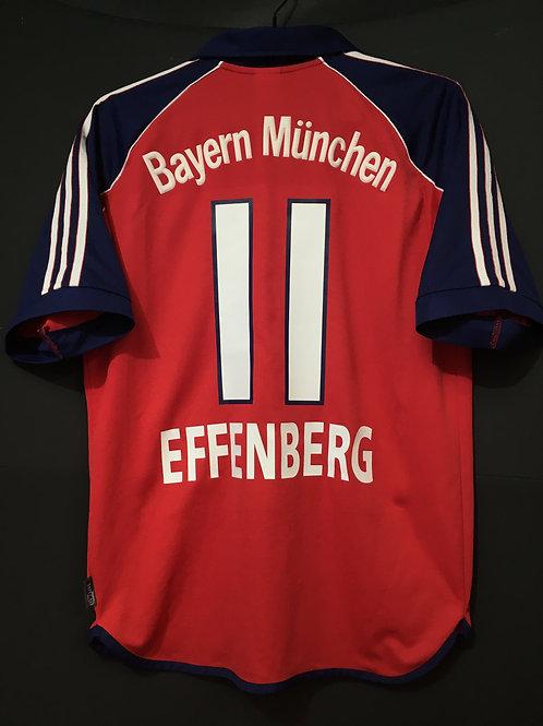 【1999/2001】 / FC Bayern Munich / Home / No.11 EFFENBERG