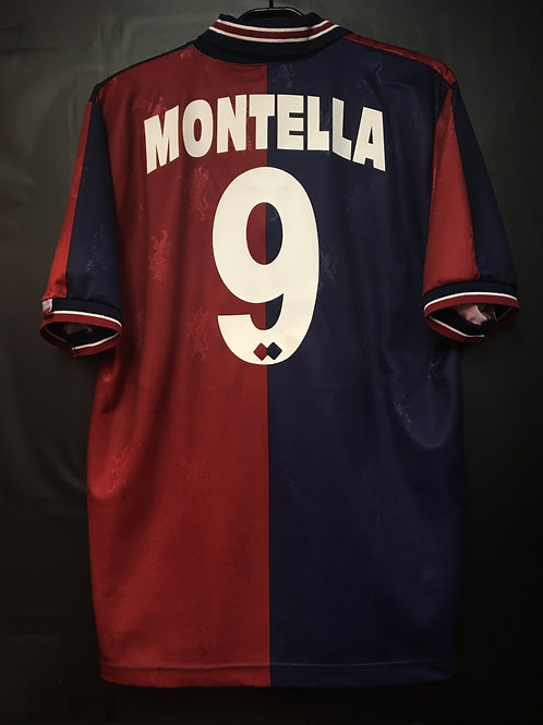 【1995/96】 / Genoa C.F.C. / Home / No.9 MONTELLA