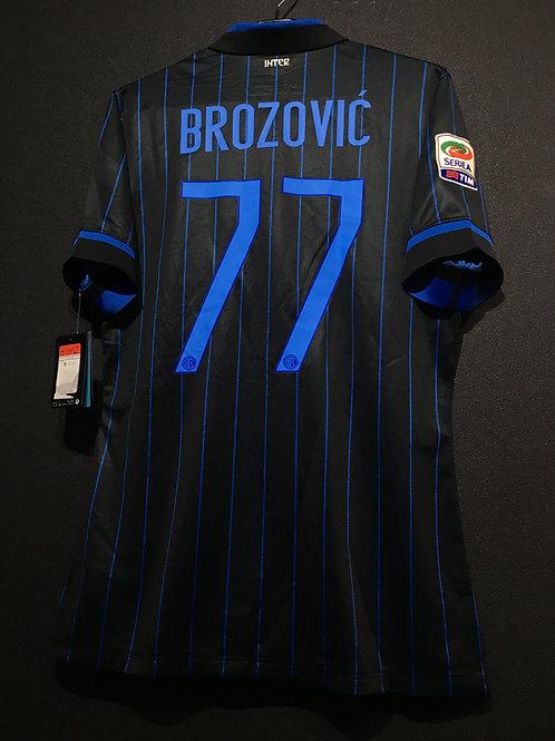 【2014/15】 / Inter Milan / Home / No.77 BROZOVIC