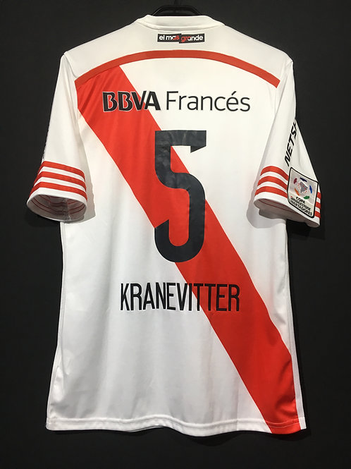 【2015】 / River Plate / Home / No.5 KRANEVITTER / Copa Libertadores Final