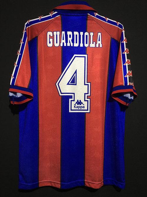 【1995/97】 / FC Barcelona / Home / No.4 GUARDIOLA / Reproduction