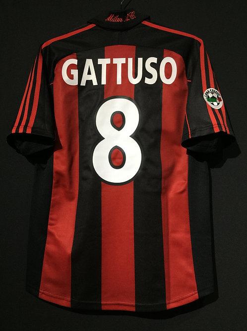【2000/02】 / A.C. Milan / Home / No.8 GATTUSO