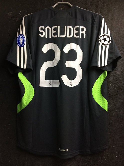 【2007/08】 / Real Madrid C.F. / 3rd / No.23 SNEIJDER / UCL