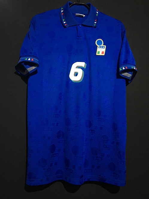 【1994】 / Italy / Home / No.6 BARESI / Made in Italy / Player Issue