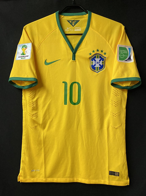 【2014】 / Brazil / Home / No.10 NEYMAR JR / FIFA World Cup / Authentic