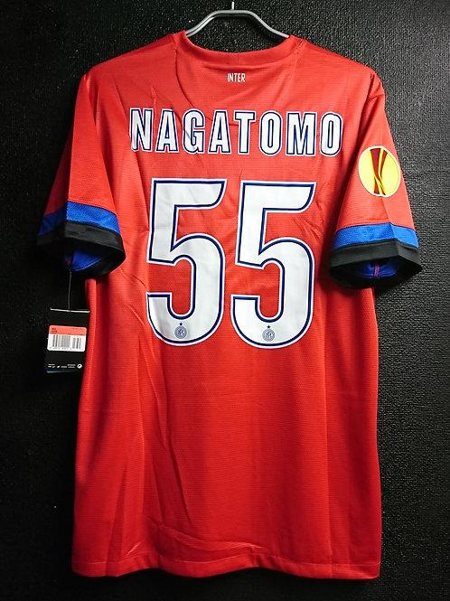 【2012/13】 / Inter Milan / Away  / No.55 NAGATOMO / UEL