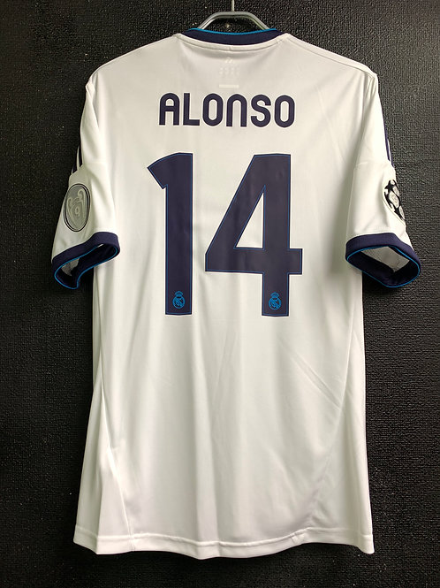 【2012/13】 / Real Madrid C.F. / Home / No.14 ALONSO / UCL
