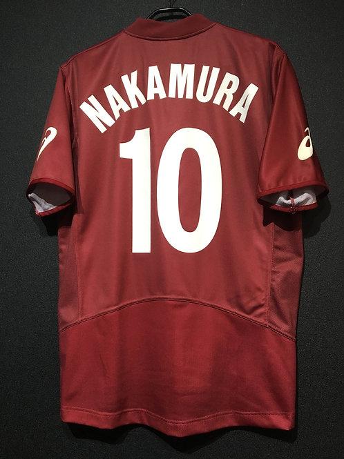 【2003/04】 / Reggina / Home / No.10 NAKAMURA