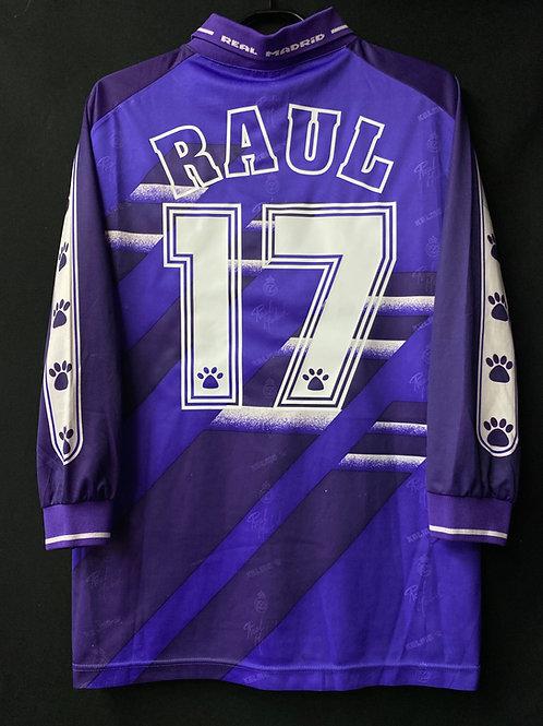 【1994/96】 / Real Madrid C.F. / Away / No.17 RAUL