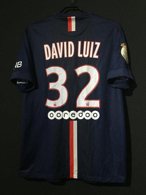 【2014/15】 / Paris Saint-Germain / Home / No.32 DAVID LUIZ