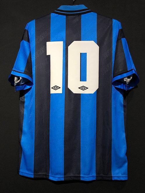 【1994/95】 / Inter Milan / Home / No.10