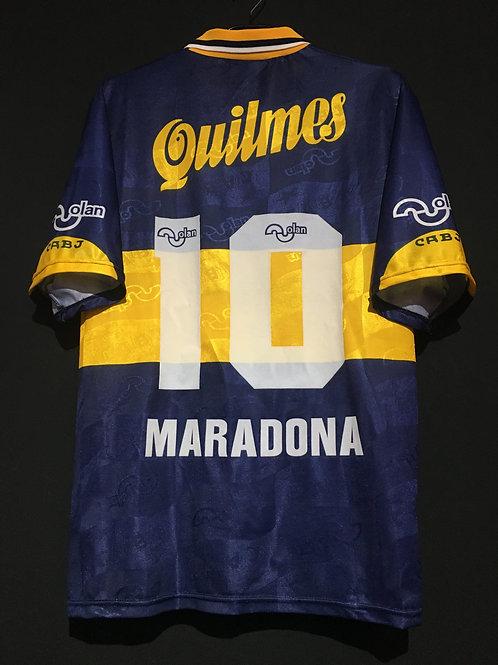 【1996】 / Boca Juniors / Home / No.10 MARADONA