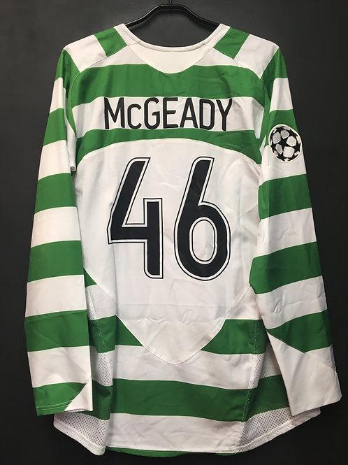 【2006/07】 / Celtic F.C. / Home / No.46 McGEADY / UCL