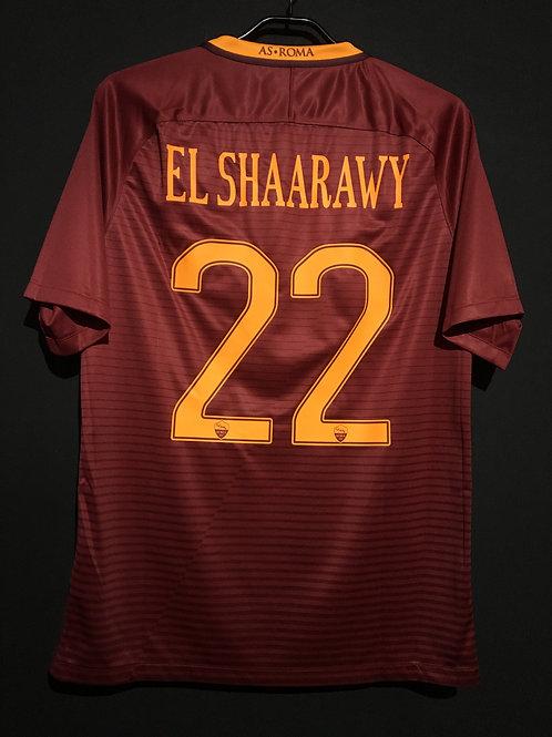 【2016/17】 / A.S. Roma / Home / No.22 EL SHAARAWY