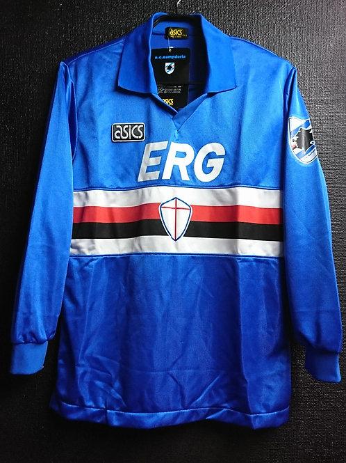 【1993/94】 / U.C. Sampdoria / Home / No.10