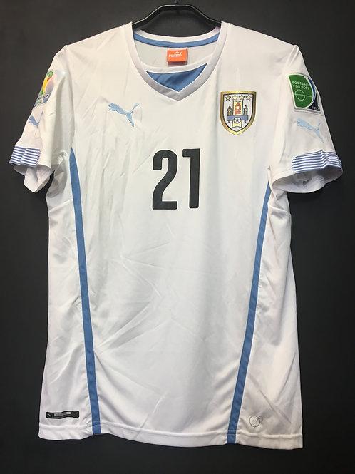 【2014】 / Uruguay / Away / No.21 E.CAVANI / FIFA World Cup
