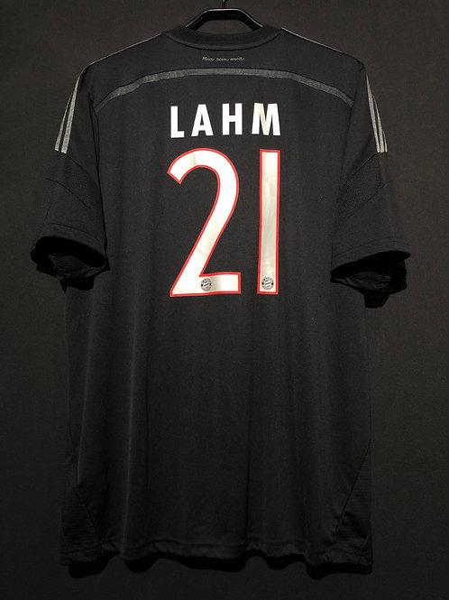 【2014/15】 / FC Bayern Munich / 3rd / No.21 LAHM