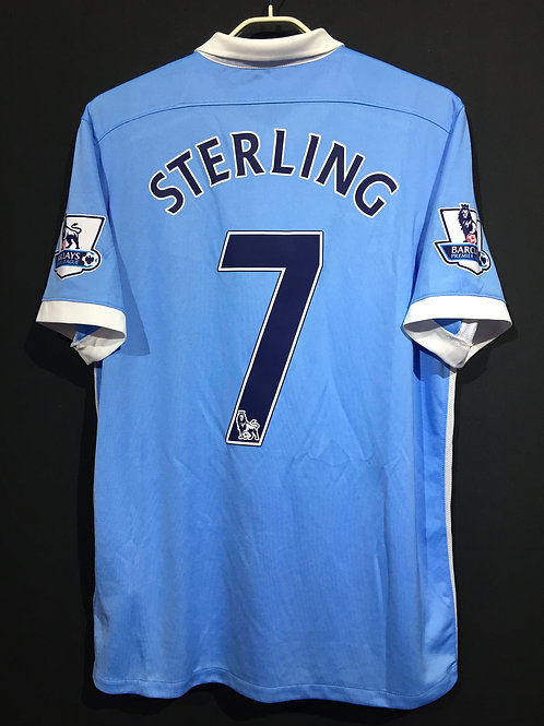 【2015/16】/ Manchester City / Home / No.7 STERLING