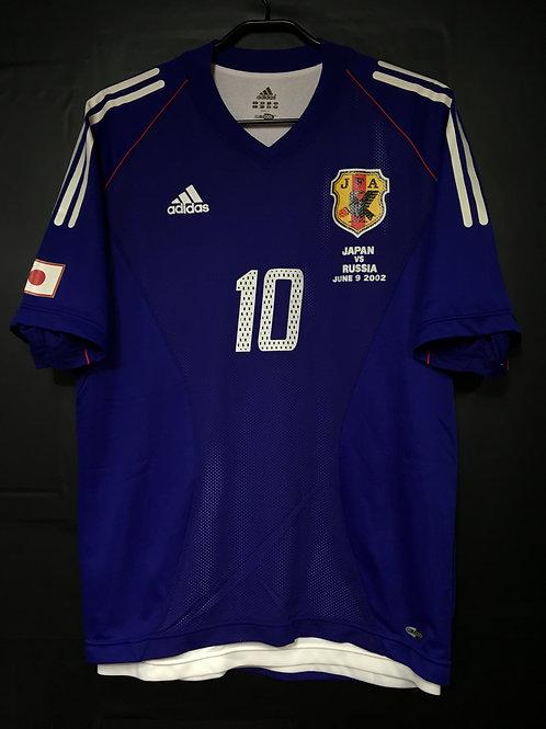 【2002】 / Japan / Home / No.10 NAKAYAMA / vs. RUSSIA / Authentic