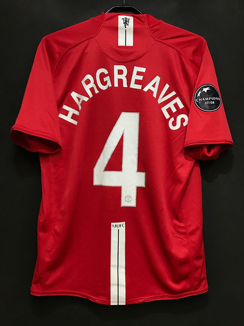 【2008/09】 / Manchester United / Home / No.4 HARGREAVES / UCL