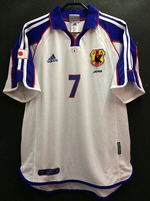 【2001/02】 / Japan / Away / No.7 NAKATA / Authentic