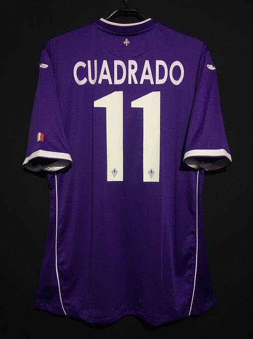 【2014】 / ACF Fiorentina / Home / No.11 CUADRADO / Coppa Italia Final