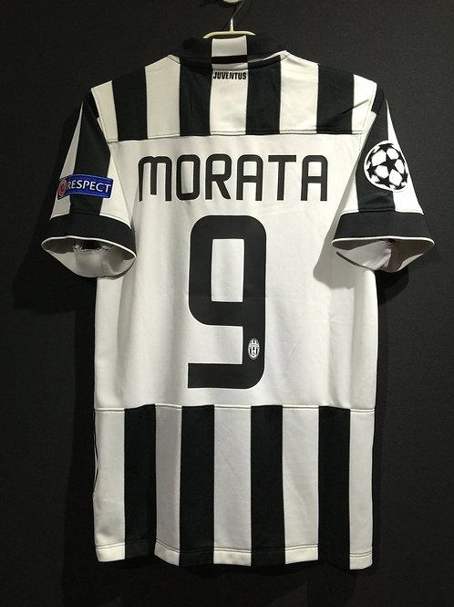 【2014/15】 / Juventus / Home / No.9 MORATA / UCL