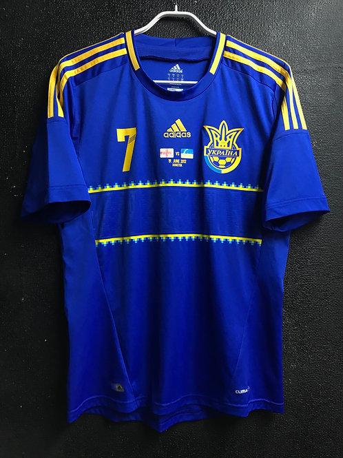 【2012/13】 / Ukraine / Away / No.7 SHEVCHENKO / vs. England