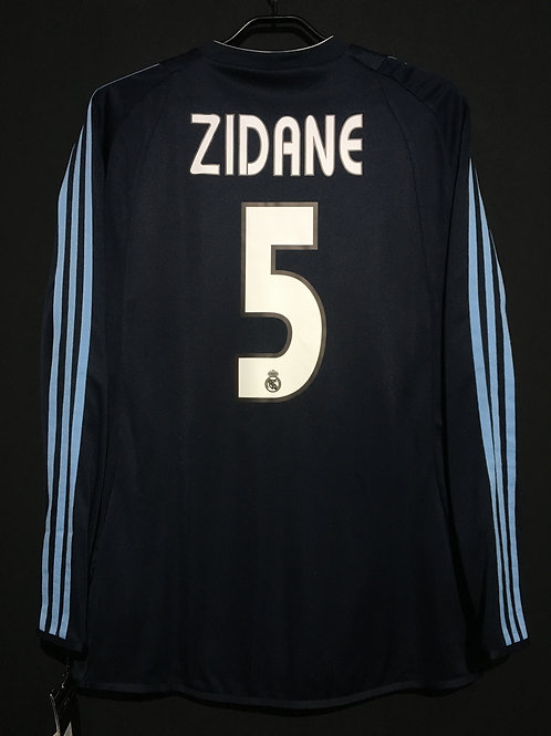 【2003/04】 / Real Madrid C.F. / Away / No.5 ZIDANE / Authentic