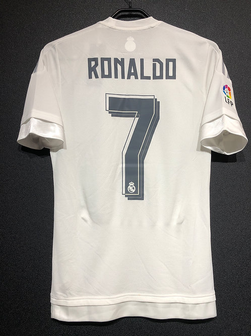 【2015/16】 / Real Madrid C.F. / Home / No.7 RONALDO / Authentic