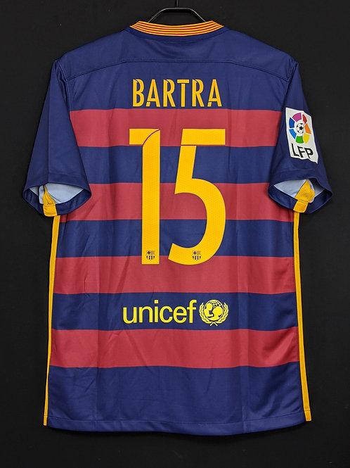 【2015/16】 / FC Barcelona / Home / No.15 BARTRA
