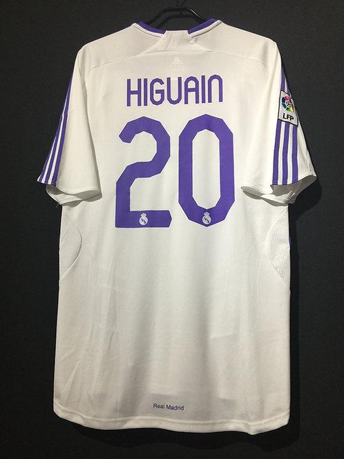 【2007/08】 / Real Madrid C.F. / Home / No.20 HIGUAIN