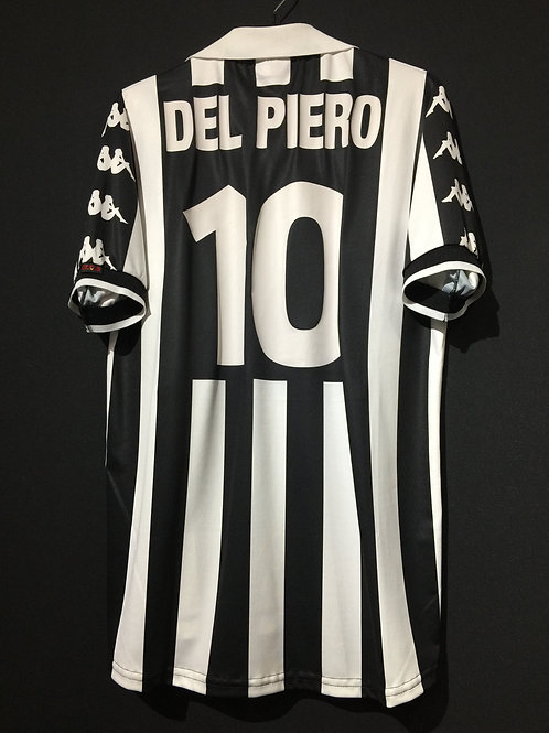 【1999】 / Juventus / Cup(Home) / No.10 DEL PIERO / Intertoto Cup