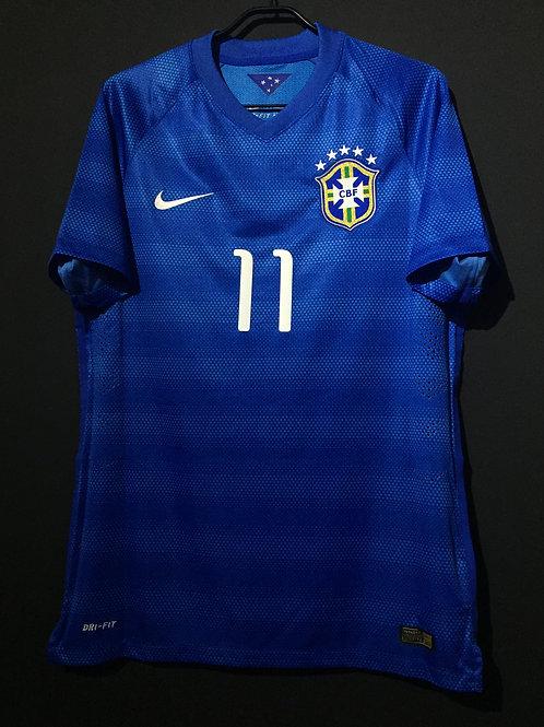 【2014/15】 / Brazil / Home / No.11 OSCAR / Authentic