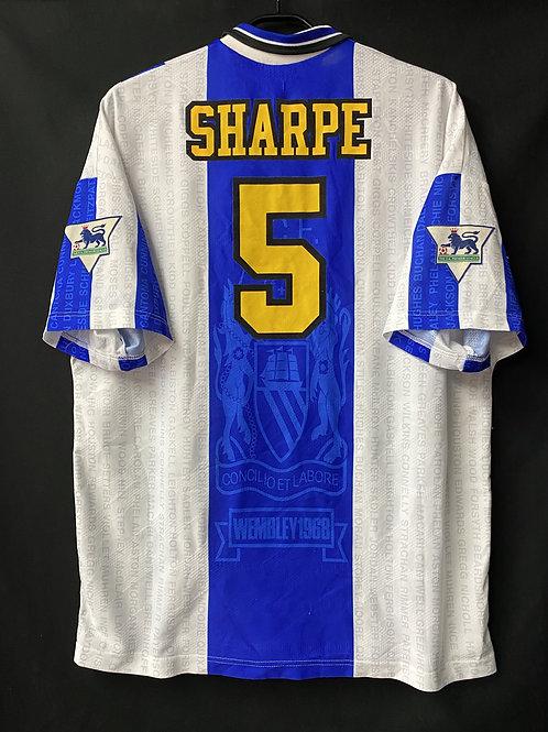 【1995/96】 / Manchester United / 3rd / No.5 SHARPE