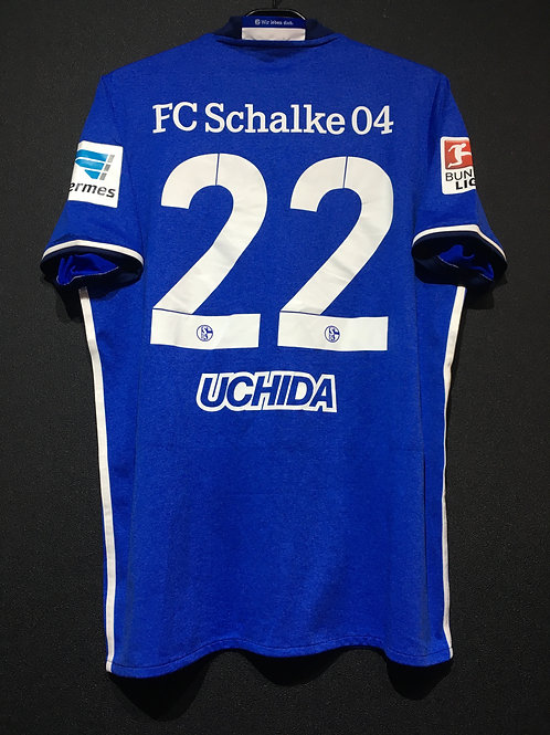 【2016/18】 / Schalke 04 / Home / No.22 UCHIDA