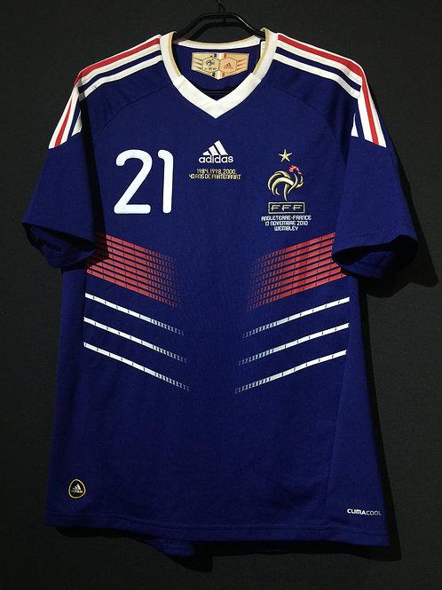 【2010】 / France / Home / No.21 ANELKA / vs. England