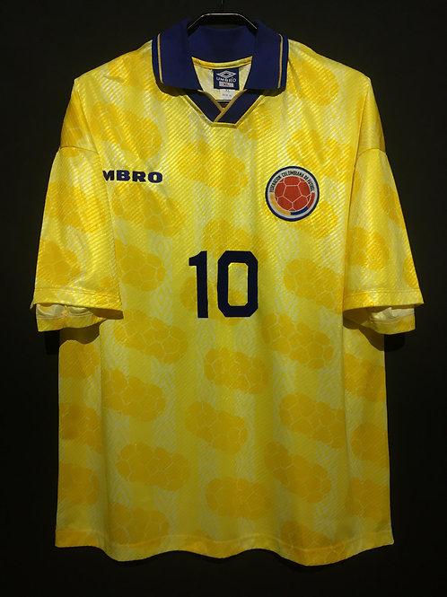 【1994】 / Colombia / Home / No.10 VALDERRAMA
