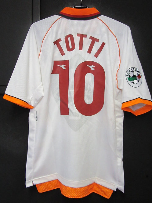 【1997/98】 / A.S. Roma / Away / No.10 TOTTI