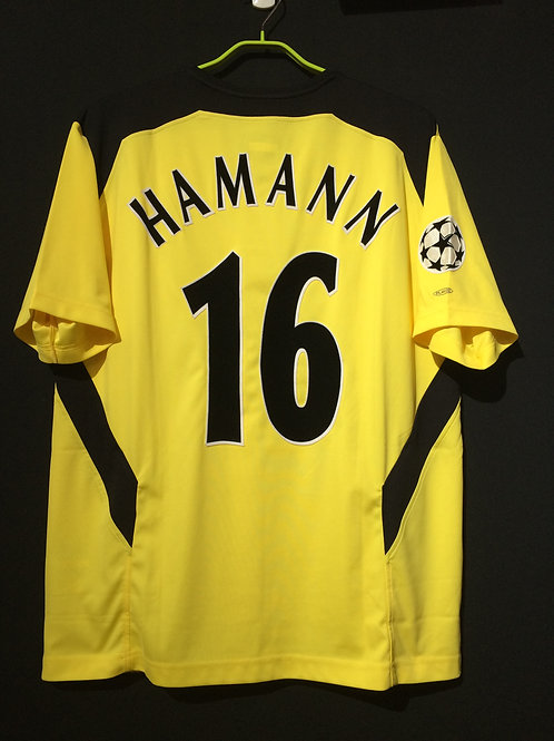 【2004/05】 / Liverpool / Away / No.16 HAMANN / UCL