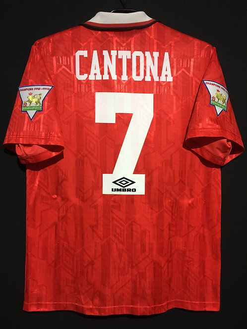 【1993/94】 / Manchester United / Home / No.7 CANTONA