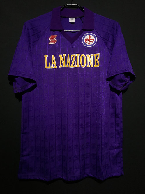 【1989/90】 / ACF Fiorentina / Home / No.10 / Reproduction