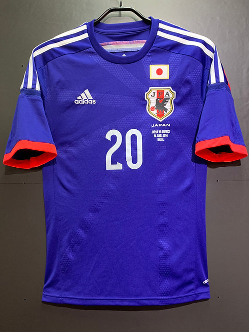 【2014】 / Japan / Home / No.20 SATO / vs. Greece