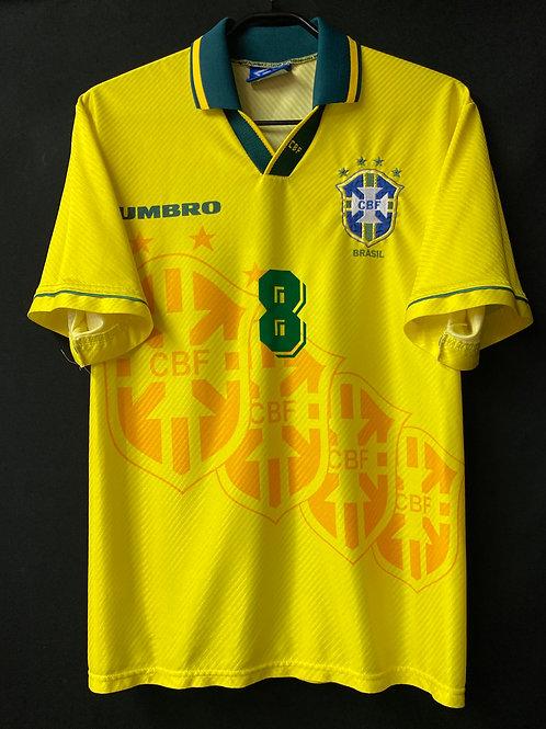 【1995/96】 / Brazil / Home / No.8 DUNGA / ver.1