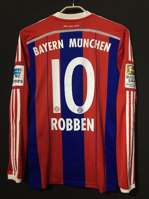 【2014/15】 / FC Bayern Munich / Home / No.10 ROBBEN