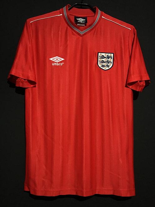 【1986】 / England / Away / Reproduction