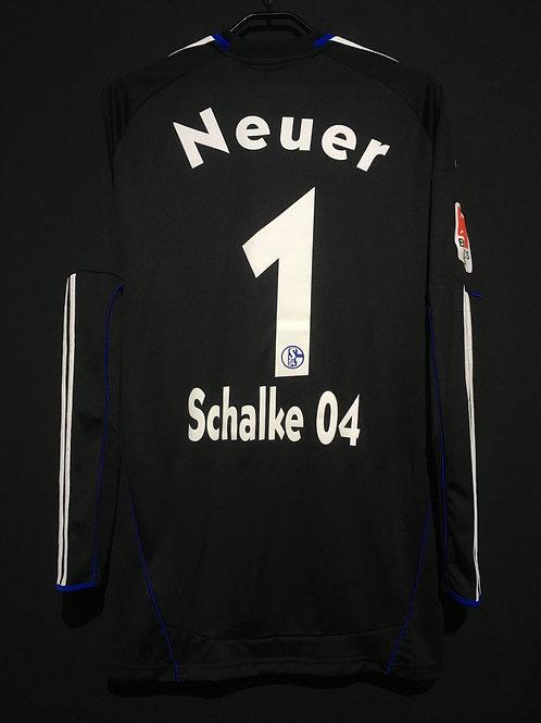 【2010/11】 / Schalke 04 / GK(Away) / No.1 NEUER